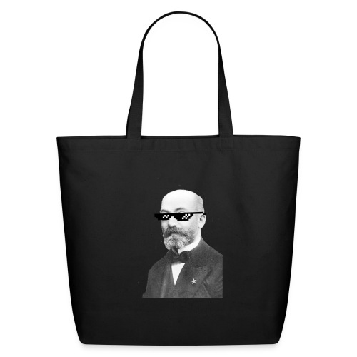 Zamenhof Shades (BW) - Eco-Friendly Cotton Tote