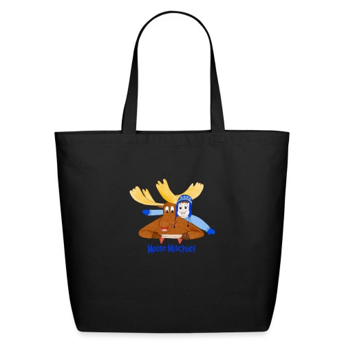 Moose Mischief - Eco-Friendly Cotton Tote