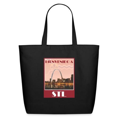 Bienvenido STL Skyline - Eco-Friendly Cotton Tote