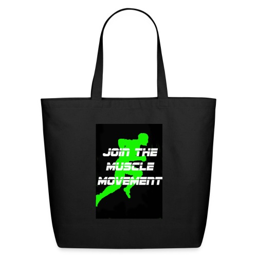 muscle movement - Eco-Friendly Cotton Tote