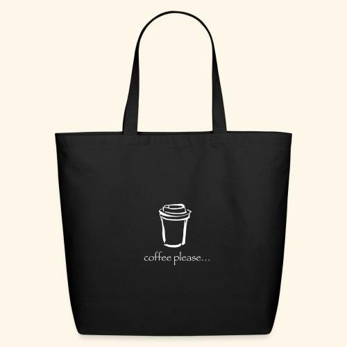 Coffee please - Eco-Friendly Cotton Tote