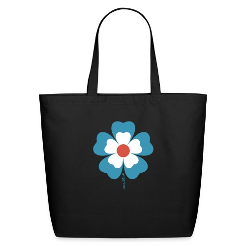 flower time - Eco-Friendly Cotton Tote