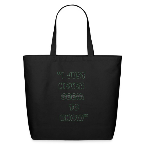 know png - Eco-Friendly Cotton Tote