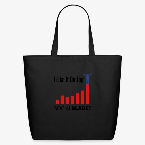 I Like It On Top - Guy - Eco-Friendly Cotton Tote