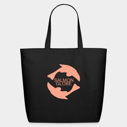 Salmon Globe - Eco-Friendly Cotton Tote