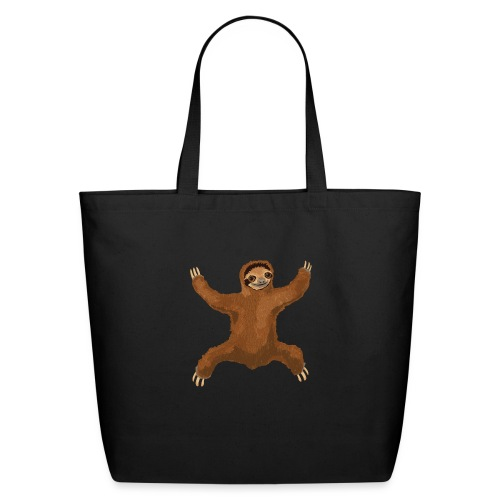 Sloth Love Hug - Eco-Friendly Cotton Tote