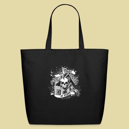 hoh_tshirt_skullhouse - Eco-Friendly Cotton Tote