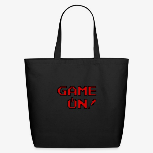 Game On.png - Eco-Friendly Cotton Tote