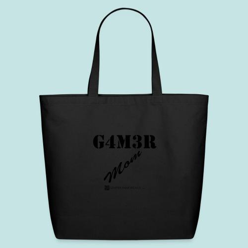 Gamer Mom (black) - Eco-Friendly Cotton Tote