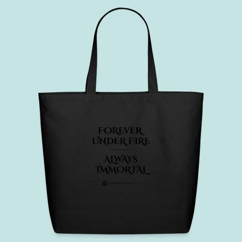 Always Immortal (black) - Eco-Friendly Cotton Tote