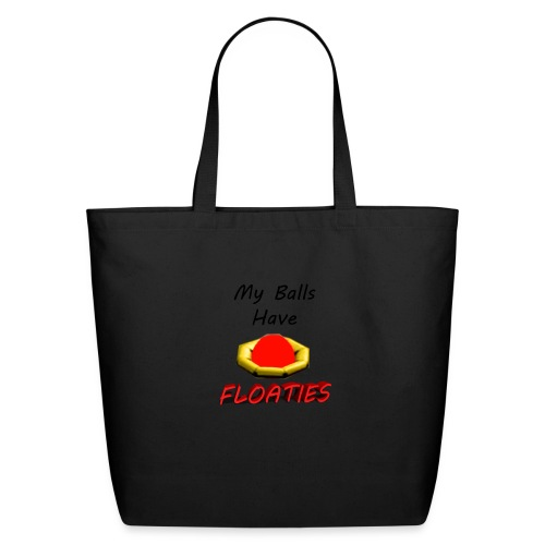 My Balls Have Floaties - Eco-Friendly Cotton Tote