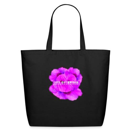 lets_get_purple_2 - Eco-Friendly Cotton Tote