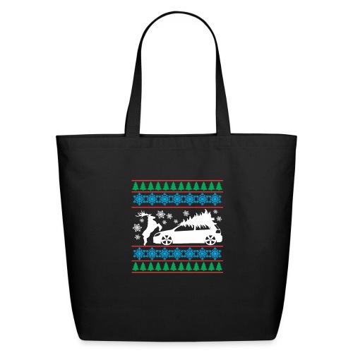 MK6 GTI Ugly Christmas Sweater - Eco-Friendly Cotton Tote