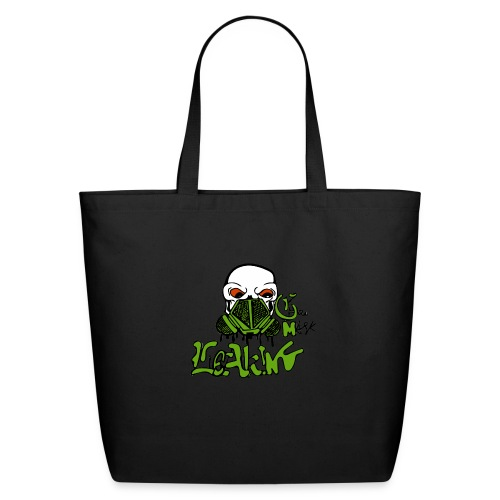 Leaking Gas Mask - Eco-Friendly Cotton Tote