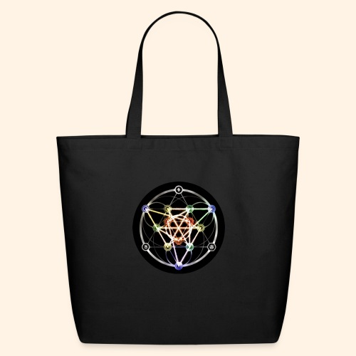 Classic Alchemical Cycle - Eco-Friendly Cotton Tote
