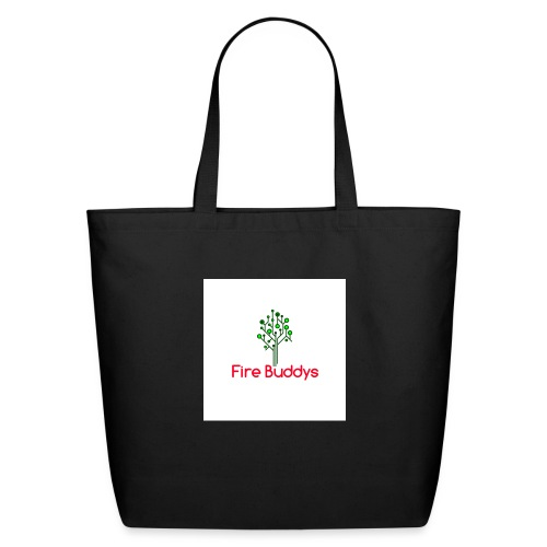 Fire Buddys Website Logo White Tee-shirt eco - Eco-Friendly Cotton Tote