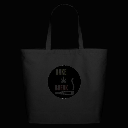 Bake Break Logo Cutout - Eco-Friendly Cotton Tote