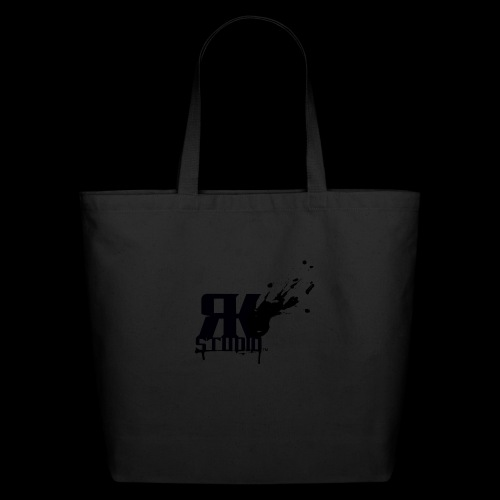 RKStudio Black Version - Eco-Friendly Cotton Tote
