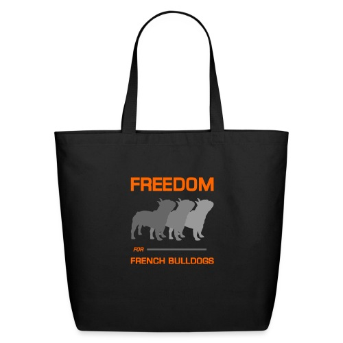 French Bulldogs - Eco-Friendly Cotton Tote