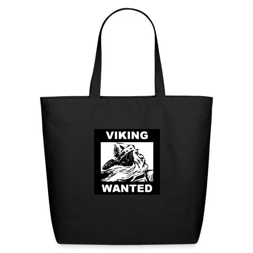 VIKING WANTED - Eco-Friendly Cotton Tote