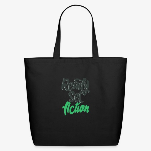 Ready.Set.Action! - Eco-Friendly Cotton Tote