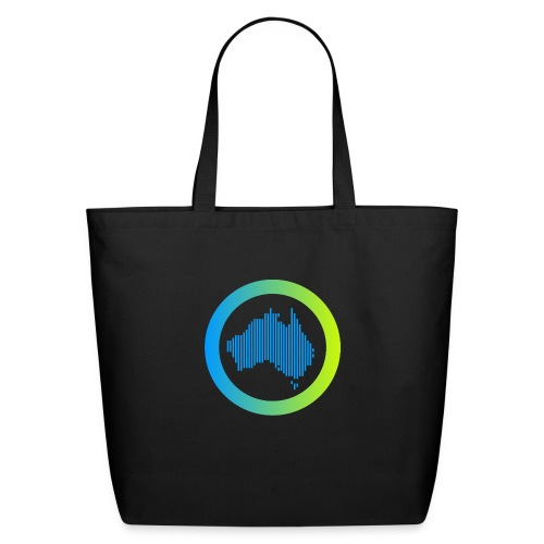 Gradient Symbol Only - Eco-Friendly Cotton Tote