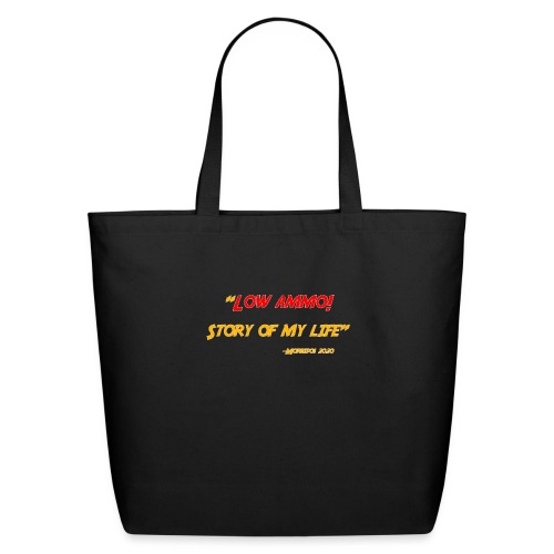 Logoed back with low ammo front - Eco-Friendly Cotton Tote