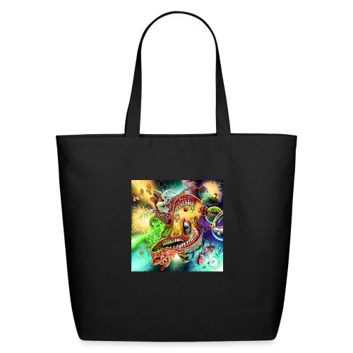 Psychedelic Quantum Portals to Sound & Vision - Eco-Friendly Cotton Tote
