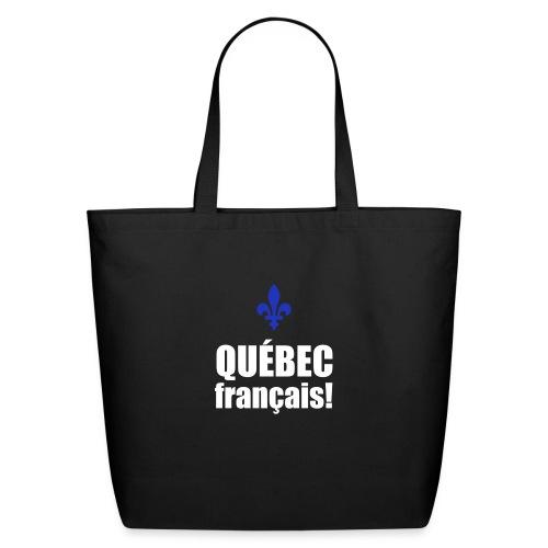 QUÉBEC français - Eco-Friendly Cotton Tote