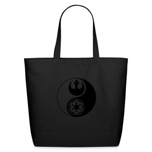 Star Wars Yin Yang 1-Color Dark - Eco-Friendly Cotton Tote