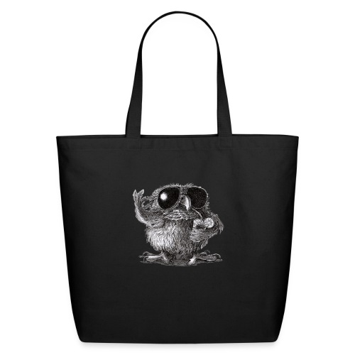 Cool Owl - Eco-Friendly Cotton Tote