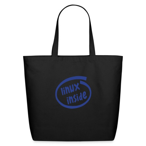 linux inside - Eco-Friendly Cotton Tote