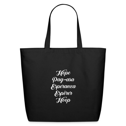 DC2020 SwagStore PRESS Hope for the World f - Eco-Friendly Cotton Tote