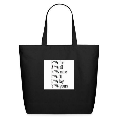 Family is important - Eco-Friendly Cotton Tote