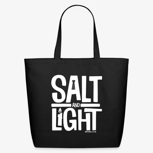 Salt + Light - Eco-Friendly Cotton Tote
