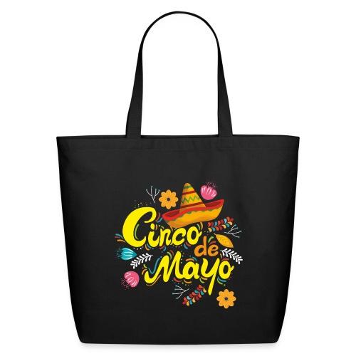 cinco mayo viva mexico - Eco-Friendly Cotton Tote