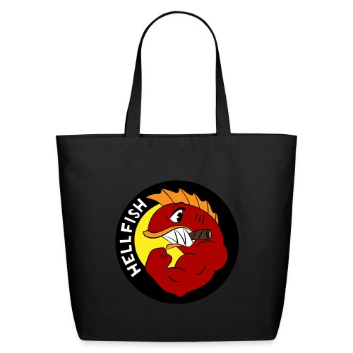 Hellfish - Flying Hellfish - Eco-Friendly Cotton Tote