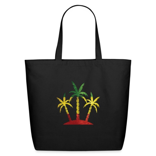 Palm Tree Reggae - Eco-Friendly Cotton Tote