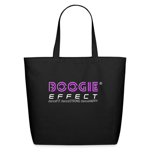 boogie effect fit strong happy logo colour - Eco-Friendly Cotton Tote