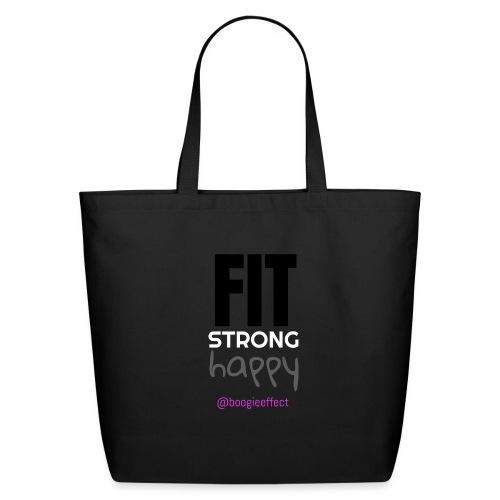 fit strong happy colour - Eco-Friendly Cotton Tote