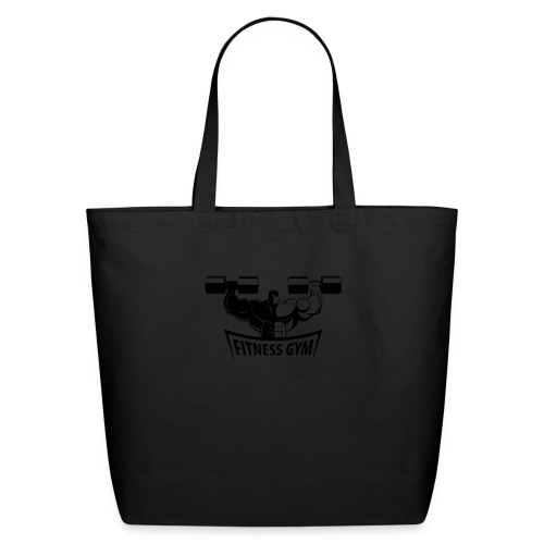 Fitness Gym Muscled Bodybuilding Dumbbells - Eco-Friendly Cotton Tote
