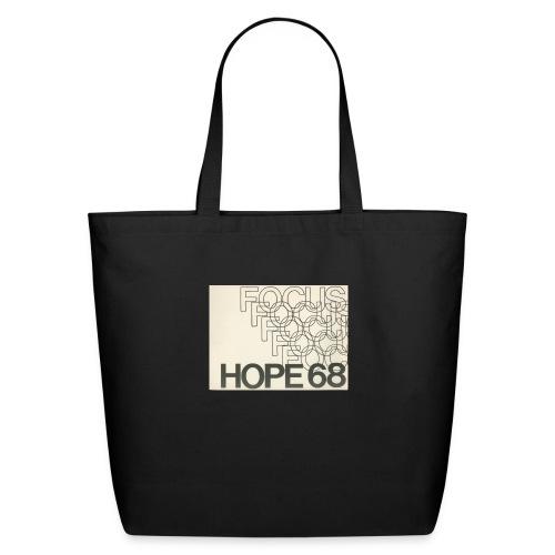 Vintage Focus: HOPE Logo - Eco-Friendly Cotton Tote