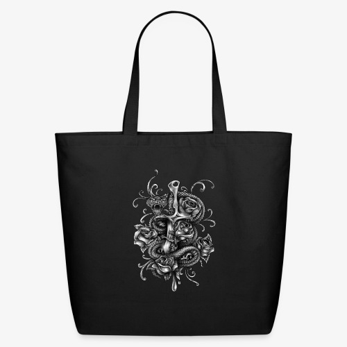 Dagger And Snake - Eco-Friendly Cotton Tote