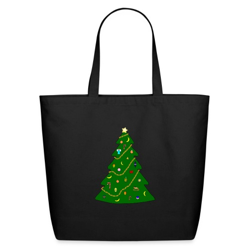 Christmas Tree For Monkey - Eco-Friendly Cotton Tote