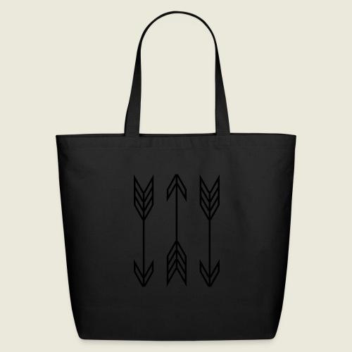 arrow symbols - Eco-Friendly Cotton Tote