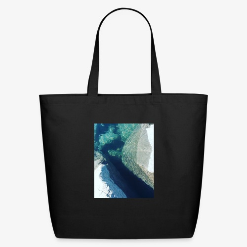 Rock underwater in New Zealand - Eco-Friendly Cotton Tote