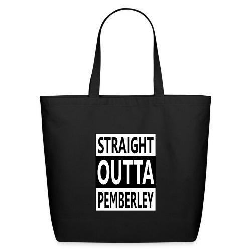 my Property of Pemberley Estate - Eco-Friendly Cotton Tote