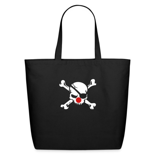 Jolly Roger Clown - Eco-Friendly Cotton Tote