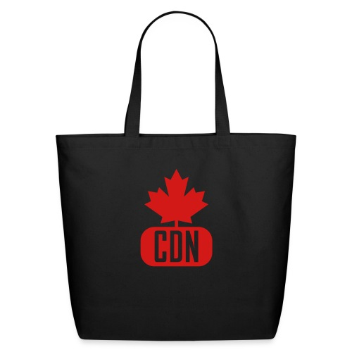 CDN with Leaf - Eco-Friendly Cotton Tote
