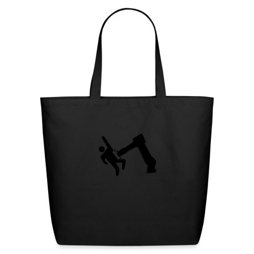 Robot Wins! - Eco-Friendly Cotton Tote